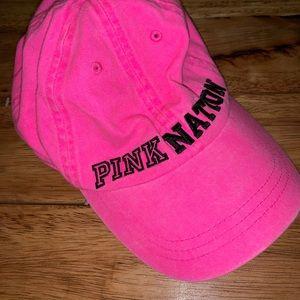 NWOT PINK Nation Hat